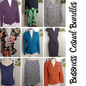 Business Casual Work Clothing Bundles